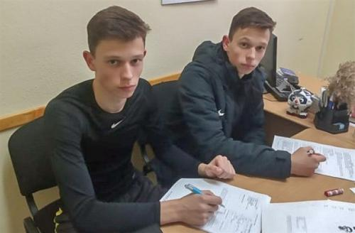Денис і Артем Рябі – гравці ФСК «Буковина»